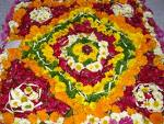 Flower Rangoli Designs Pongal Onam Design Patterns