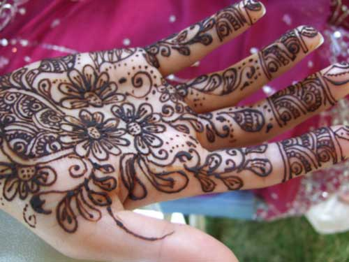 Mehndi Designs Rangoli : Bridal mehndi rangoli design patterns