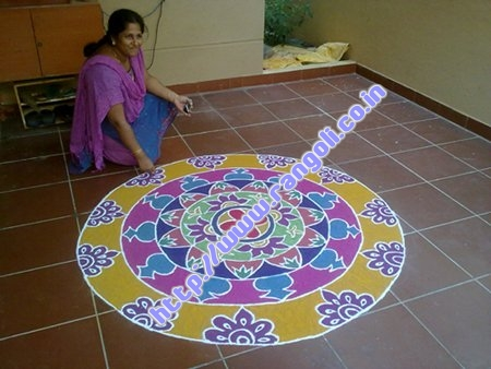 Carpet Like Rangoli