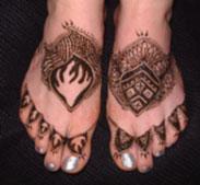 feet-mehandi