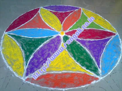 Rangoli Designs of Jharkhand