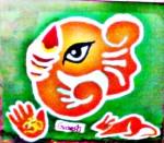 Ganpati Rangoli