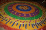 rangoli dedicated to mother